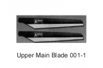 RC Helicopter HAW3 8018-3  Parts Main Upper Blade HAW3-001-1