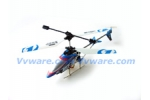 Double Horse APACHE 3D 3CH Helicopter #9074  with Tri Motors, Gyroscope