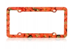 License Plate Frame_s_12 Orange