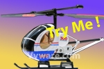 Syma Hughes 300 RTF Electric RC 2CH Helicopter