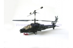AH-64 Apache Helicopter 3D 3CH Helicopter
