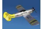 P51 Maustang Bomber 2CH Airplane (Yellow)