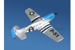 P51 Mustang-TW-748-2 4CH Airplane (Feature with ground take off)
